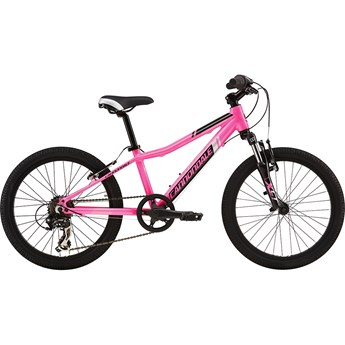 Cannondale Trail 20 Girls Acid Pink with Super Sparkle Grey and Jet Black, Gloss
