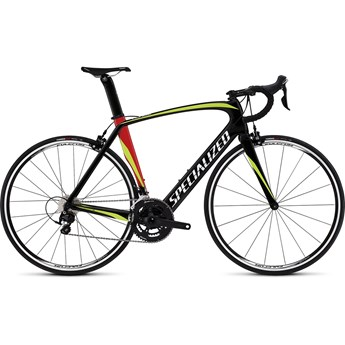 Specialized Venge Elite Gloss Tarmac Black/Hyper Green/Red