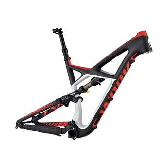 Specialized S-Works Enduro FSR Carbon 29 Frame (Bara ram) Carbon/Dirty White/Rocket Red