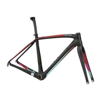 Specialized S-Works Amira SL4 Frameset (Rampaket) Carbon/Red/Pink/Teal