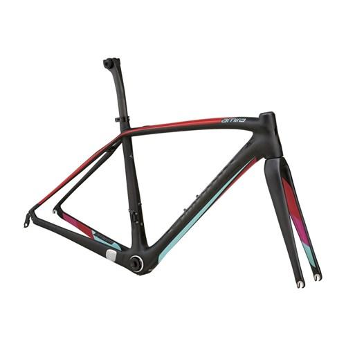 Specialized S-Works Amira SL4 Frameset (Rampaket) Carbon/Red/Pink/Teal 2015