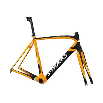 Specialized S-Works Tarmac SL4 Bara Ram (Frameset) Orange/Materialfärg/Vit