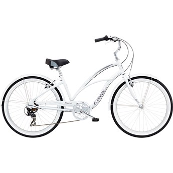Electra Cruiser Lux 7D Step-Thru White 2020