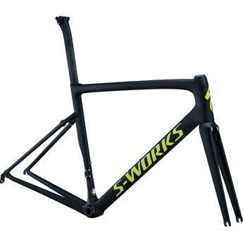 Specialized S-Works Tarmac Men SL6 Frameset Monoblack/Hyper Green Reflective/Clean 2018