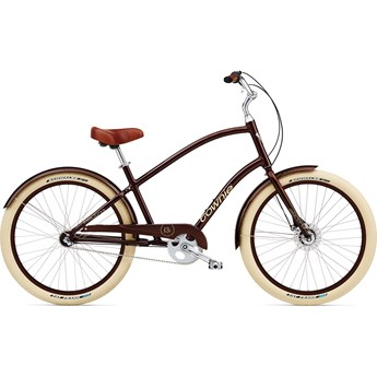 Electra Townie Balloon 3i Men's Brown Metallic