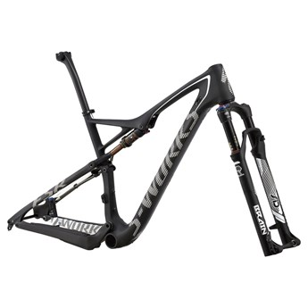 Specialized S-Works Epic FSR Carbon 29 Frameset (Rampaket) Carbon/White