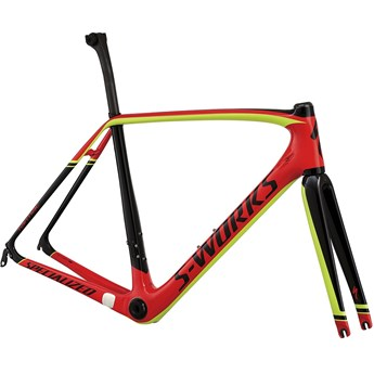 Specialized S-Works Tarmac Frameset (Rampaket) Red/Black/Hyper Green