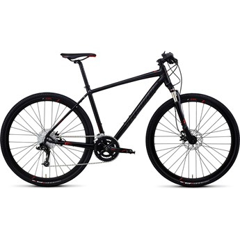 Specialized Crosstrail Pro Disc Svart/Röd
