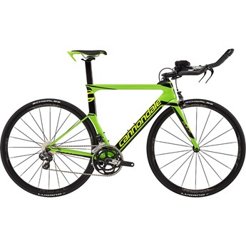 Cannondale Slice Carbon Ultegra Di2 Berzerker Green with Jet Black and Volt, Gloss