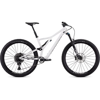 Specialized Stumpjumper FSR Men Comp 29 12 SPD Gloss White/Tarmac Black 2019