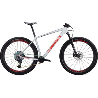 Specialized Epic Hardtail S-Works Carbon SRAM AXS 29 Gloss Dove Grey/Rocket Red/Crimson