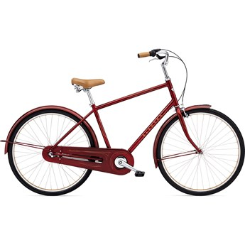 Electra Amsterdam Original 3i Dark Red Metallic Herr