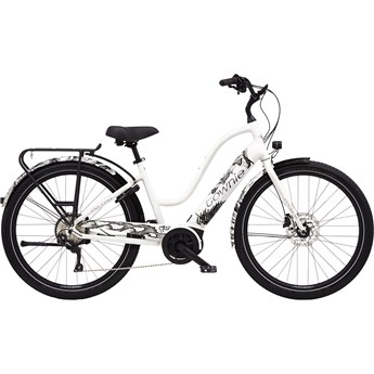 Electra Townie Path Go! 10D Step-Thru Pearl White 2020
