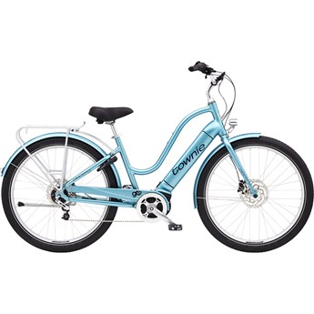 Electra Townie Path Go! 5i Step-Thru Aqua Metallic 2020