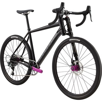 Cannondale Slate Force 1 Black Anodized with Nearly Black and Anodized Purple
