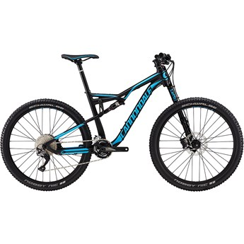 Cannondale Habit 4 Jet Black with Ultra Blue, Matte