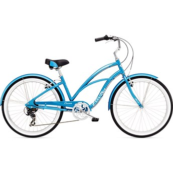 Electra Cruiser Lux 1 Blue Metallic Dam