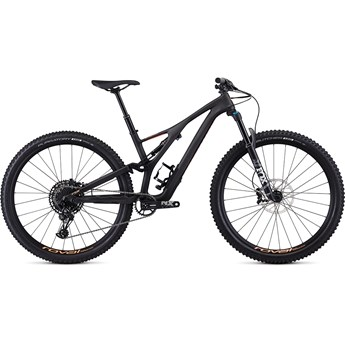 Specialized Stumpjumper FSR ST Womens Comp Carbon 29 12 Spd Satin Carbon/Acid Lava 2019