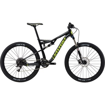 Cannondale Habit 6 Jet Black with Charcoal Grey, Neon Spring, Gloss