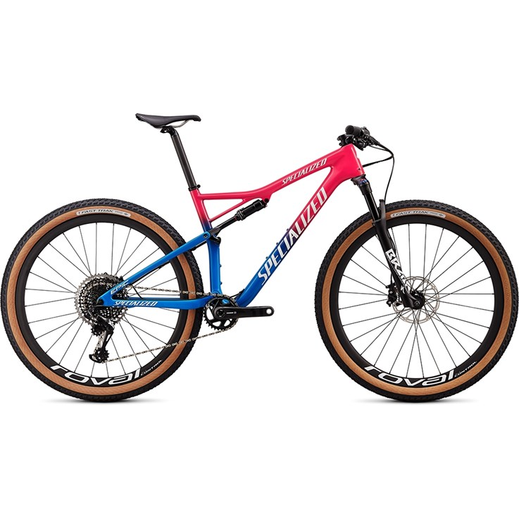 Specialized Epic Pro Carbon 29 Gloss Vivid Pink/Pro Blue/Metallic White Silver 2020