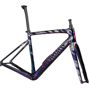 Specialized Diverge S-Works Frmset Gloss Brushed Chameleon/ Supernova/Chrome/Wild