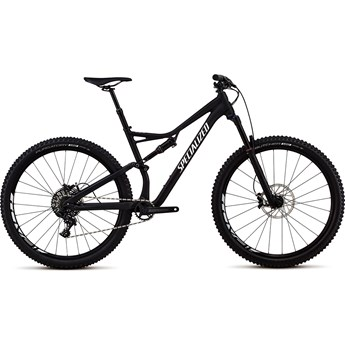 Specialized Stumpjumper FSR Comp 29 Satin Black/White Clean