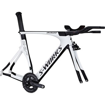 Specialized S-Works Shiv TT Module Gloss Met White/Black