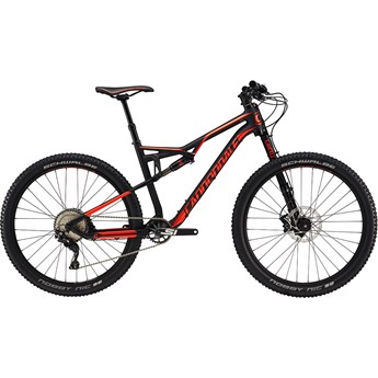 Cannondale Habit Carbon 3 Matte Jet Black with Gloss Acid Red