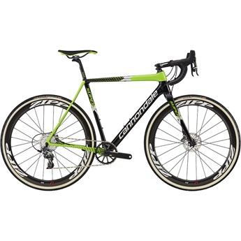 Cannondale SuperX Team Jet Black with Berzerker Green and Fine Silver, Gloss