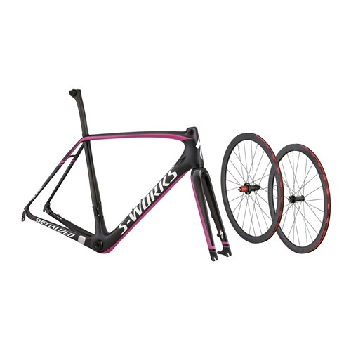 Specialized S-Works Tarmac Disc Module (Rampaket) Carbon/Black/Magenta 2015