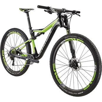 Cannondale Scalpel-Si Hi-Mod Race Exposed Carbon with Berzerker Green, Chrome, Matte Nearly Black, Gloss