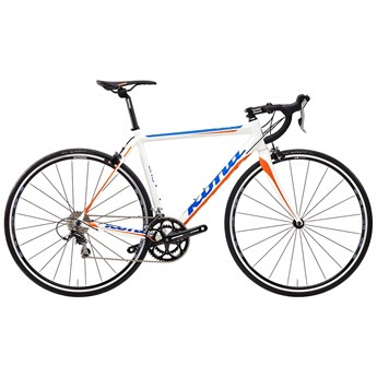 Kona Zing Matt White with Orange and Blue