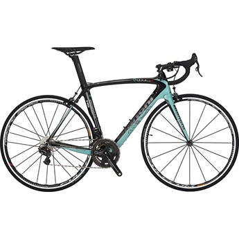 Bianchi Oltre XR2 Super Record EPS Black/Celeste/Graphite