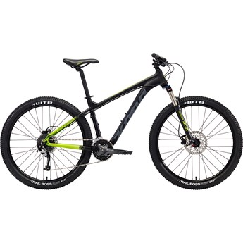 Kona Fire Mountain Black and Lime with Grey and Lime Decals 2018