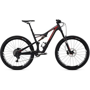 Specialized Stumpjumper FSR Expert Carbon 650B Satin Carbon/Red/White