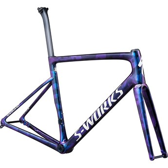 Specialized Tarmac SL6 S-Works Disc Frameset Gloss Supernova Chameleon/Dove Grey/Tarmac Black/Camo